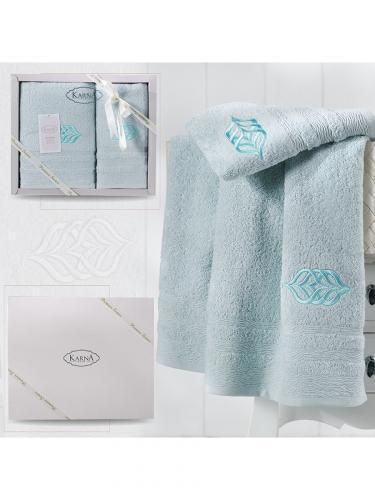 Комплект махровых полотенец DERIN 50x90-70х140 см