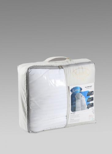 Одеяло сатин полосатый VIA (155x215) см