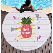 Пляжное покрывало полотенце Hello summer