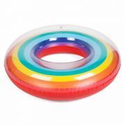 Надувной круг Радуга 120см
