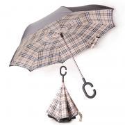Зонт наоборот Барберри