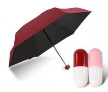 Мини зонт вишневый