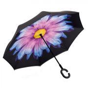 Зонт наоборот Сиреневый цветок