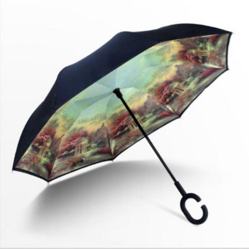 Зонт наоборот Осенний пейзаж