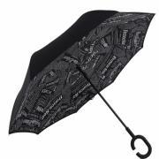 Зонт наоборот Газета