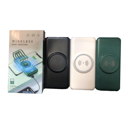 Беспроводной внешний аккумулятор Wireless fast charging